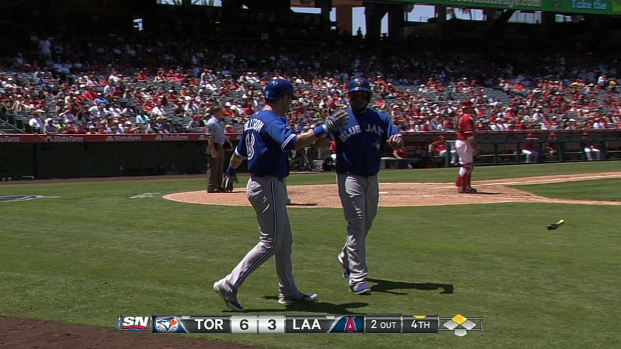 Blue Jays stung by homers, blow two leads in loss