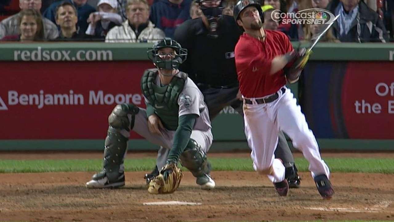 Grand slam de Pedroia impulsa victoria de Boston
