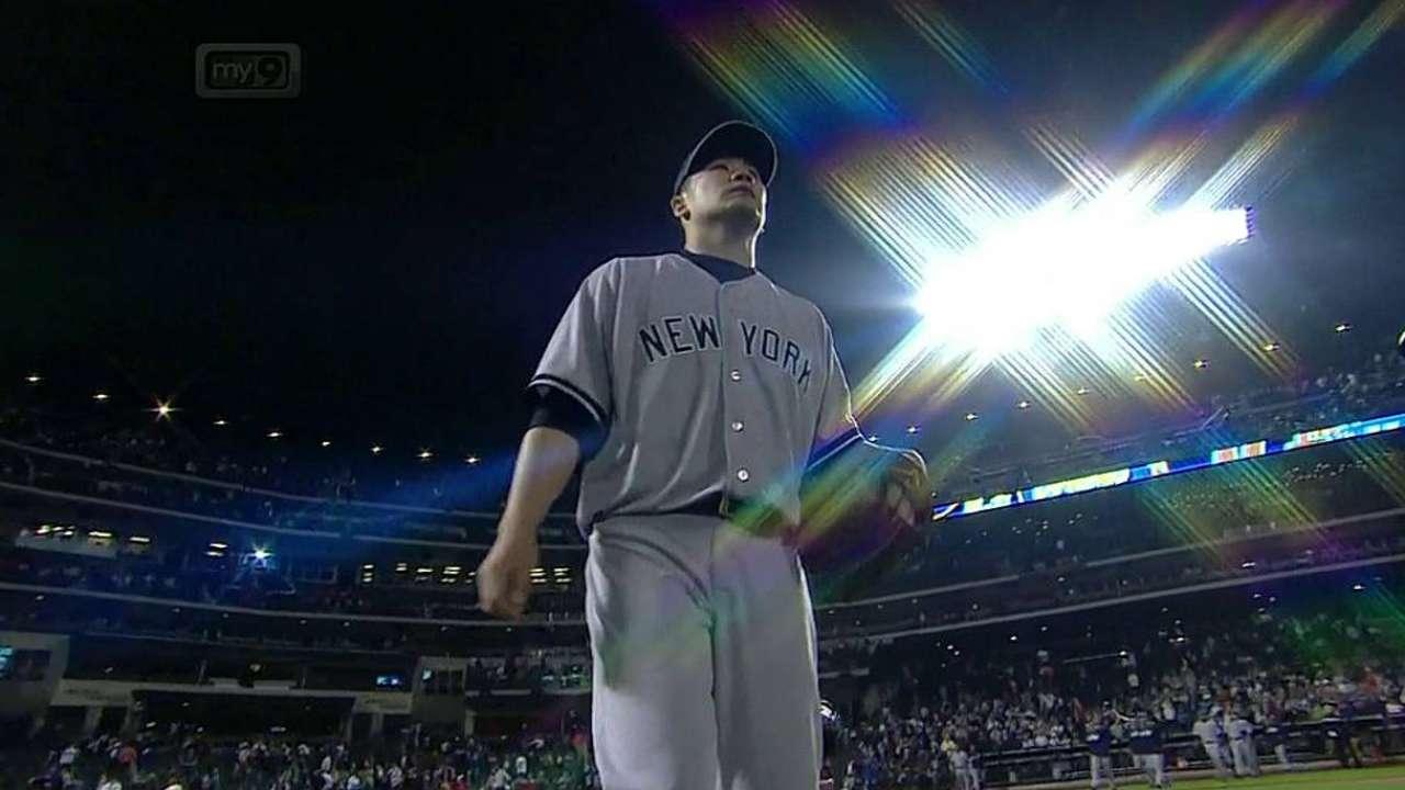 Con un Tanaka inspirado, Yankees blanquean a Mets