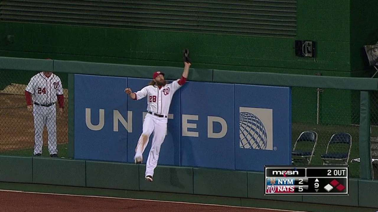 Nats knock out Niese early, hang on vs. Mets