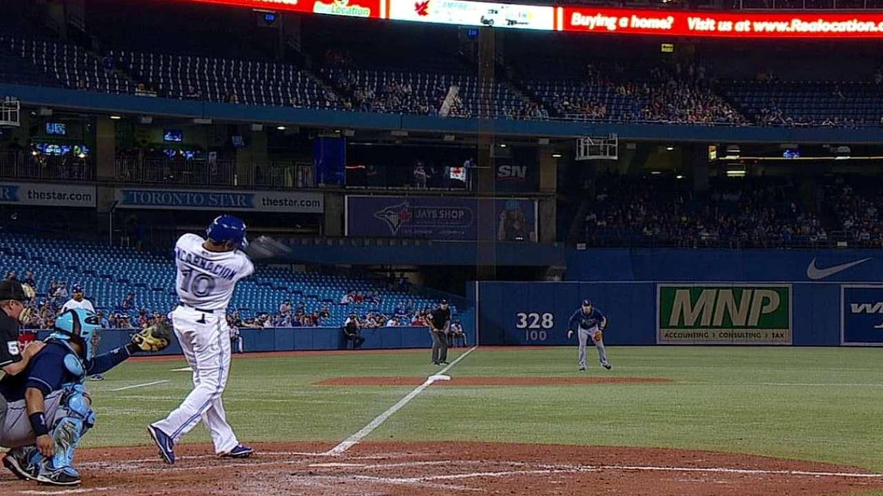 Encarnación dio HR y Toronto ganó su 8vo al hilo