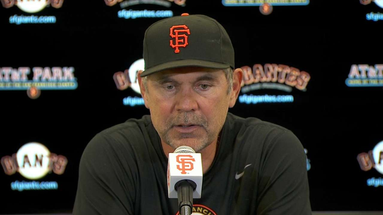 Bochy believes bats are ready to come alive