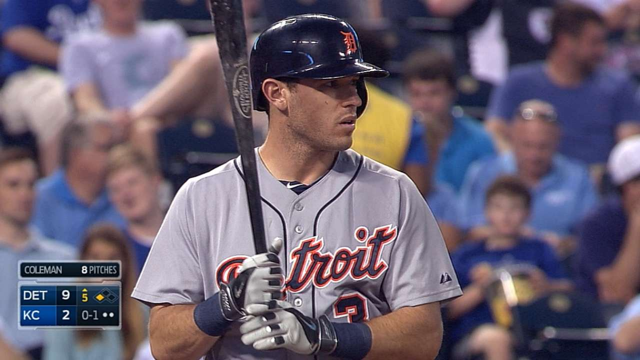 Kinsler appreciates All-Star nod with Tigers