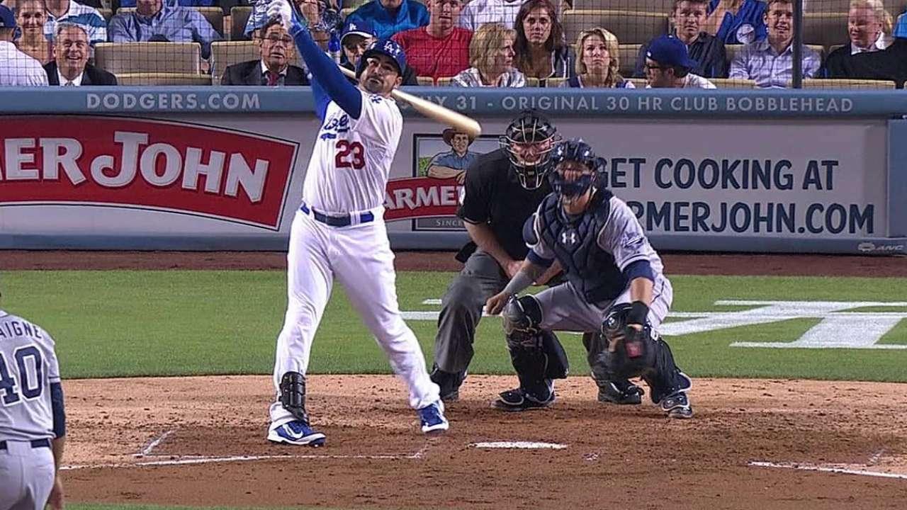 Kershaw luce sólido y guía a Dodgers sobre Padres