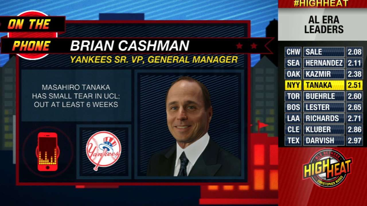 Depth in starting rotation a priority for Cashman