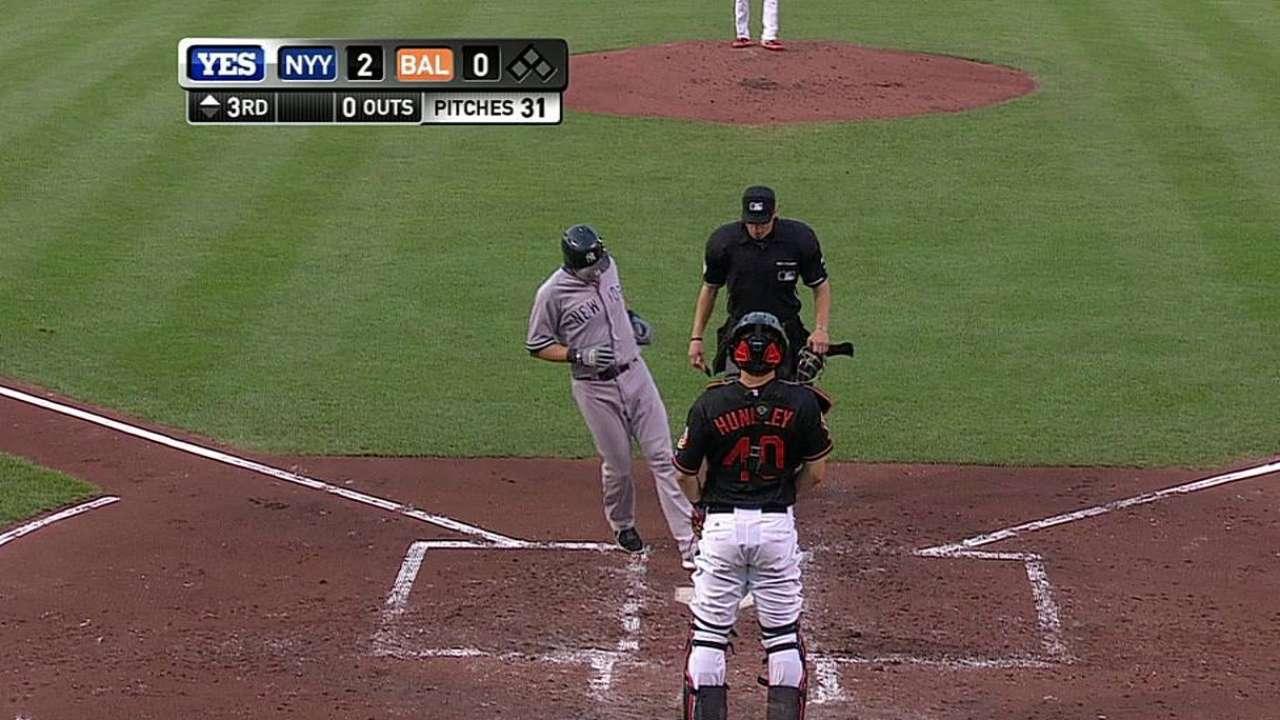 Kuroda luce en la loma pero N.Y. cae con Orioles