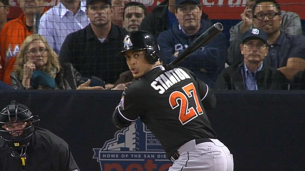 Slugging Stanton selected as All-Star reserve