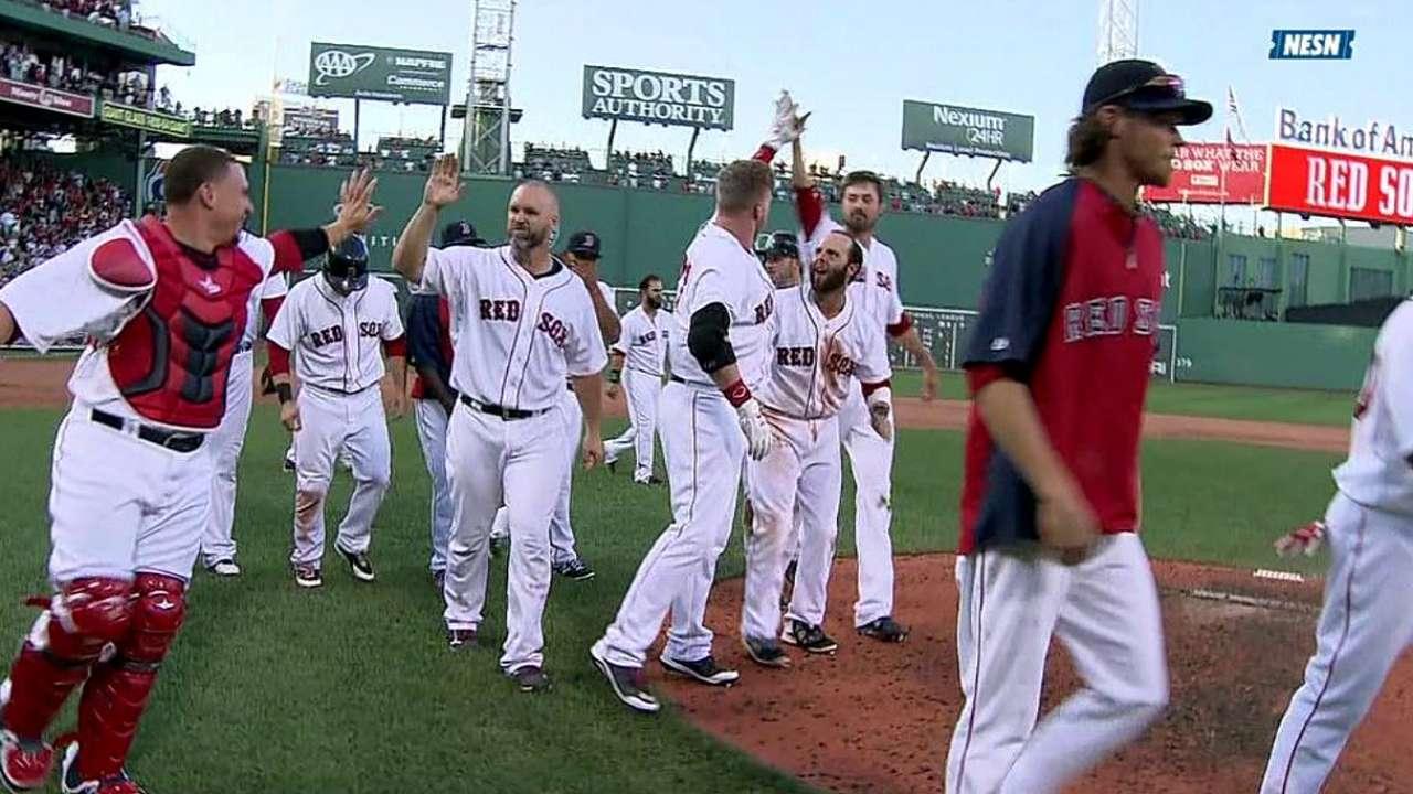 Boston volvió a dejar en el terreno a Medias Blancas