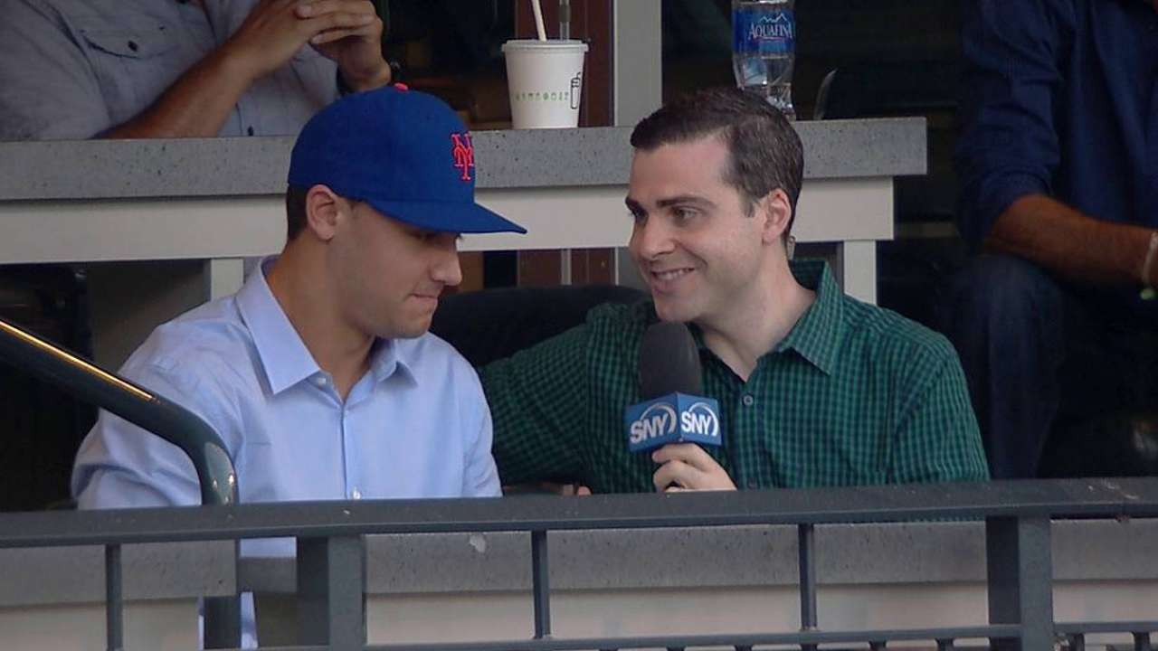 First-rounder Conforto hits Big Apple for first time