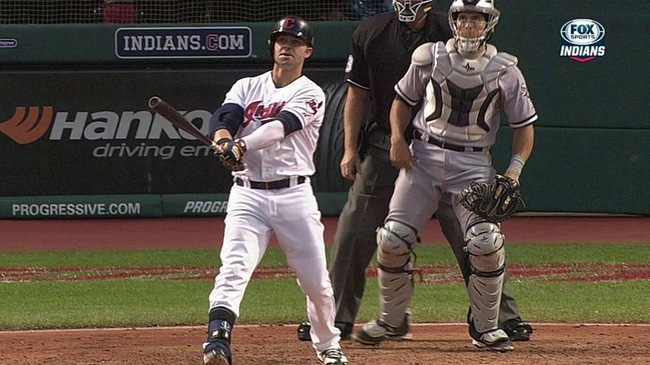 Kluber, Swisher le dan triunfo a Indios vs. White Sox