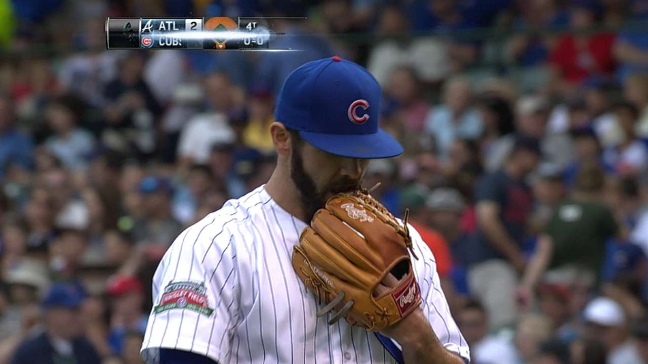 Cubs wary of pushing Arrieta too hard
