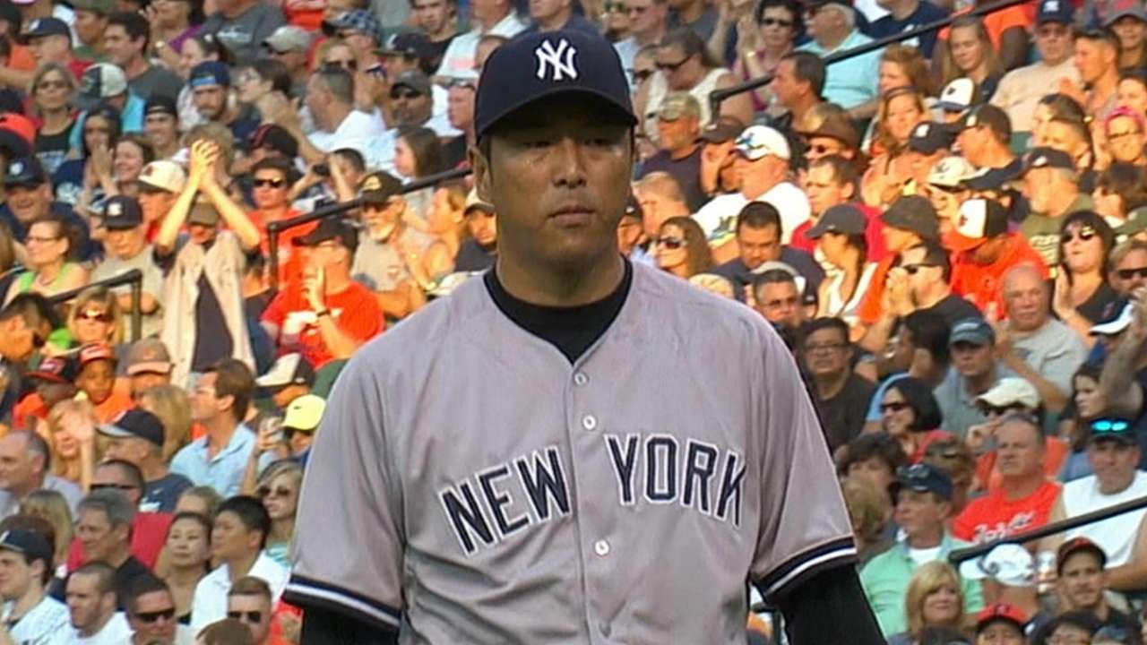 Veteran Kuroda the last starter standing