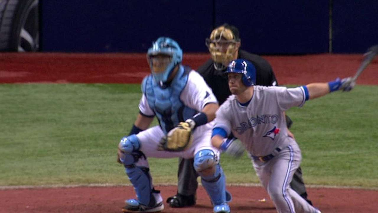 Tolleson's clutch knock lifts Blue Jays in ninth