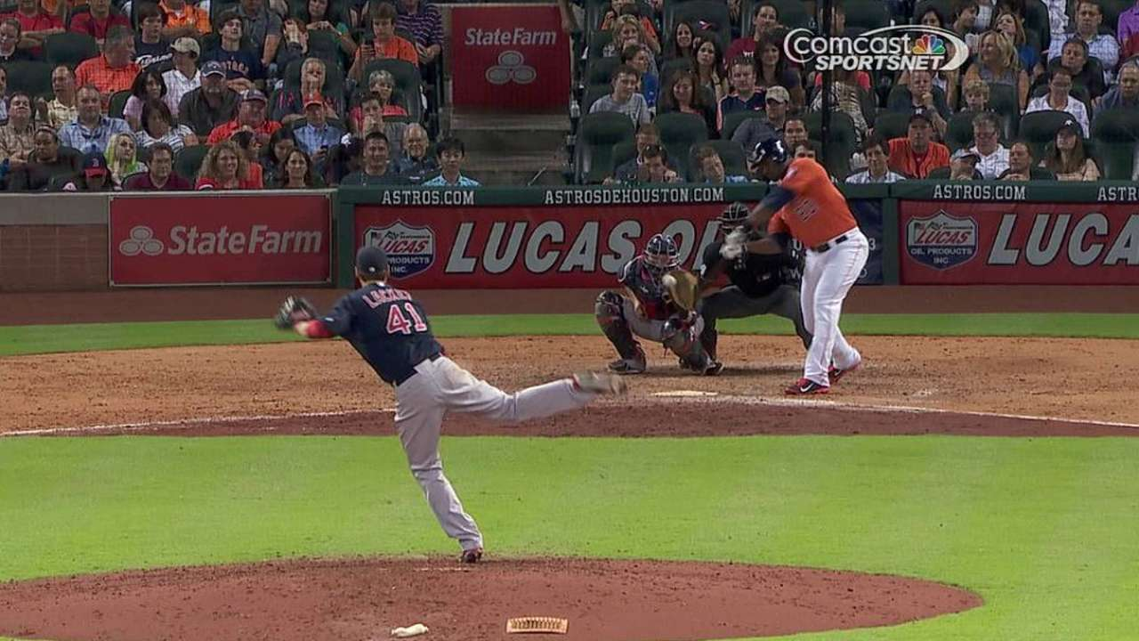 Carter jonronea pero Astros son superados por Boston
