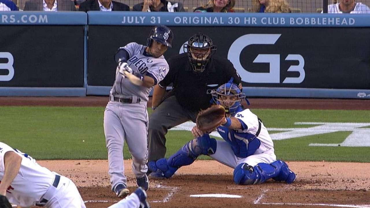 Amarista jonronea y Padres doblegan a Dodgers