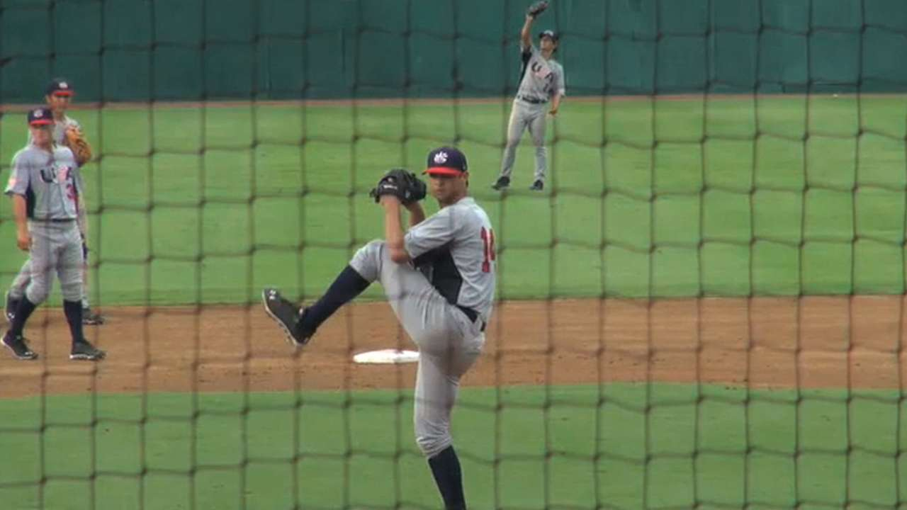 Beede 'couldn't be happier' to sign with Giants