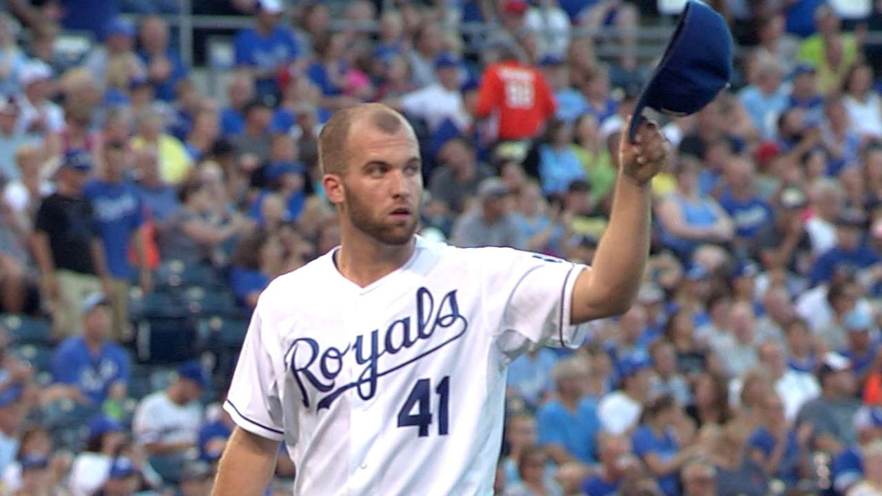 Royals slip farther back in Central after loss to Tigers