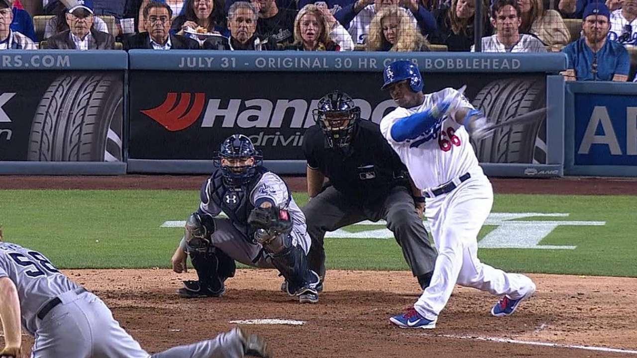 Puig luce pero Dodgers no pueden contra Padres