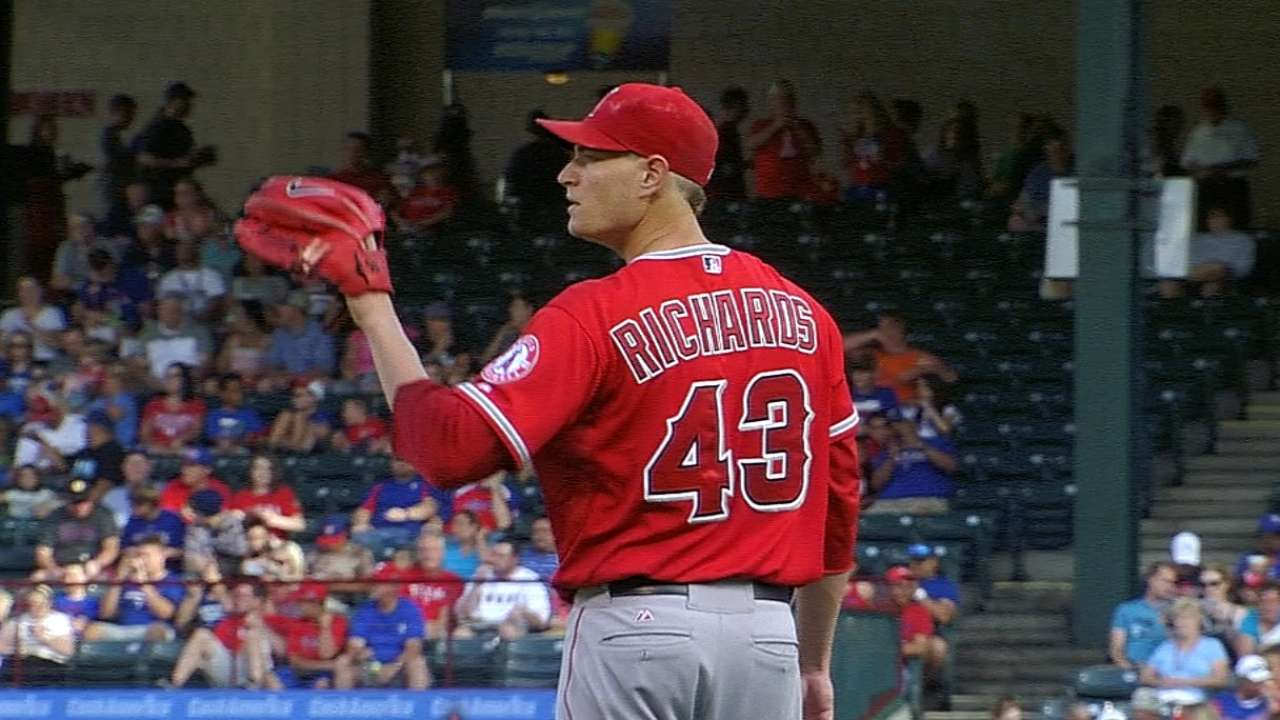 Richards says thanks, but Weaver is still the ace