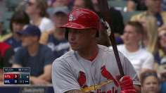 Cards rout Brewers to force tie atop Central