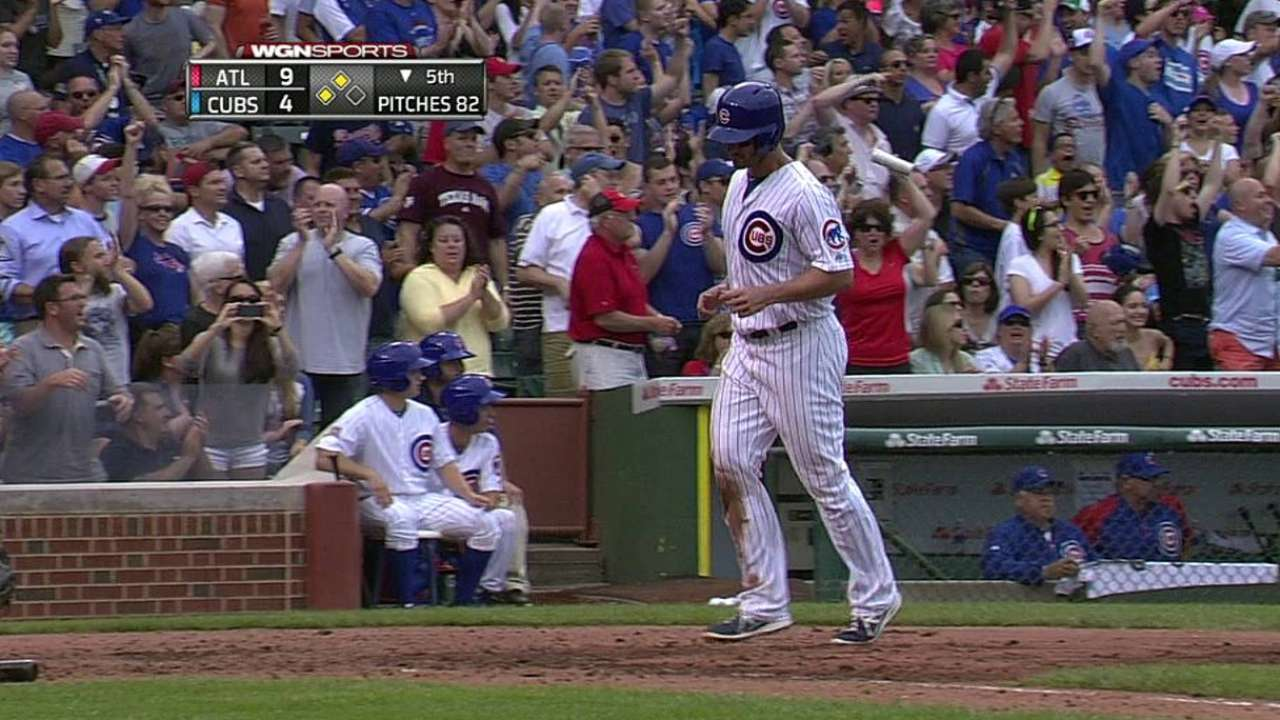 Jackson falters early, Cubs' rally falls short
