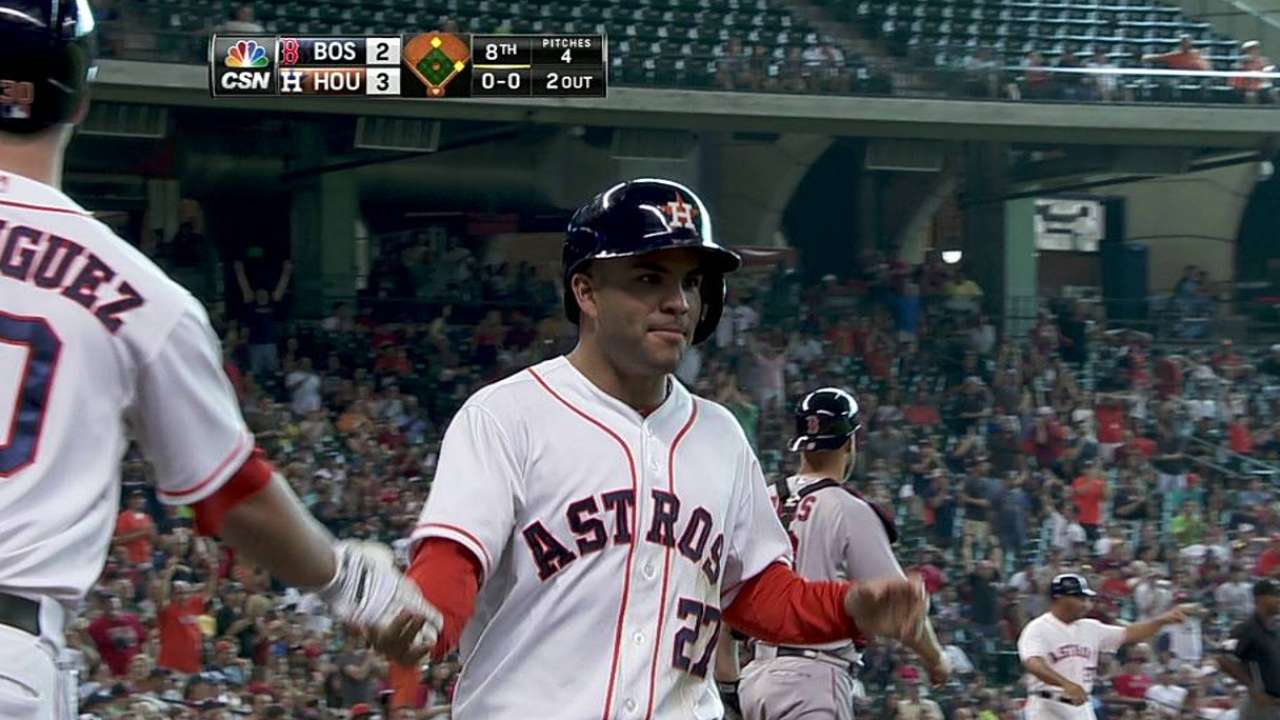 Do the hustle: Carter's infield single lifts Astros
