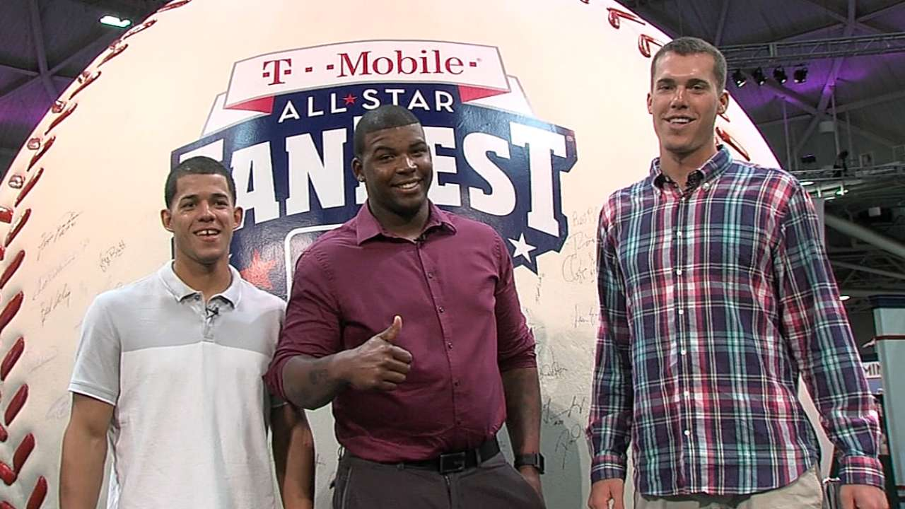 Twins prospects take tour of Mall of America