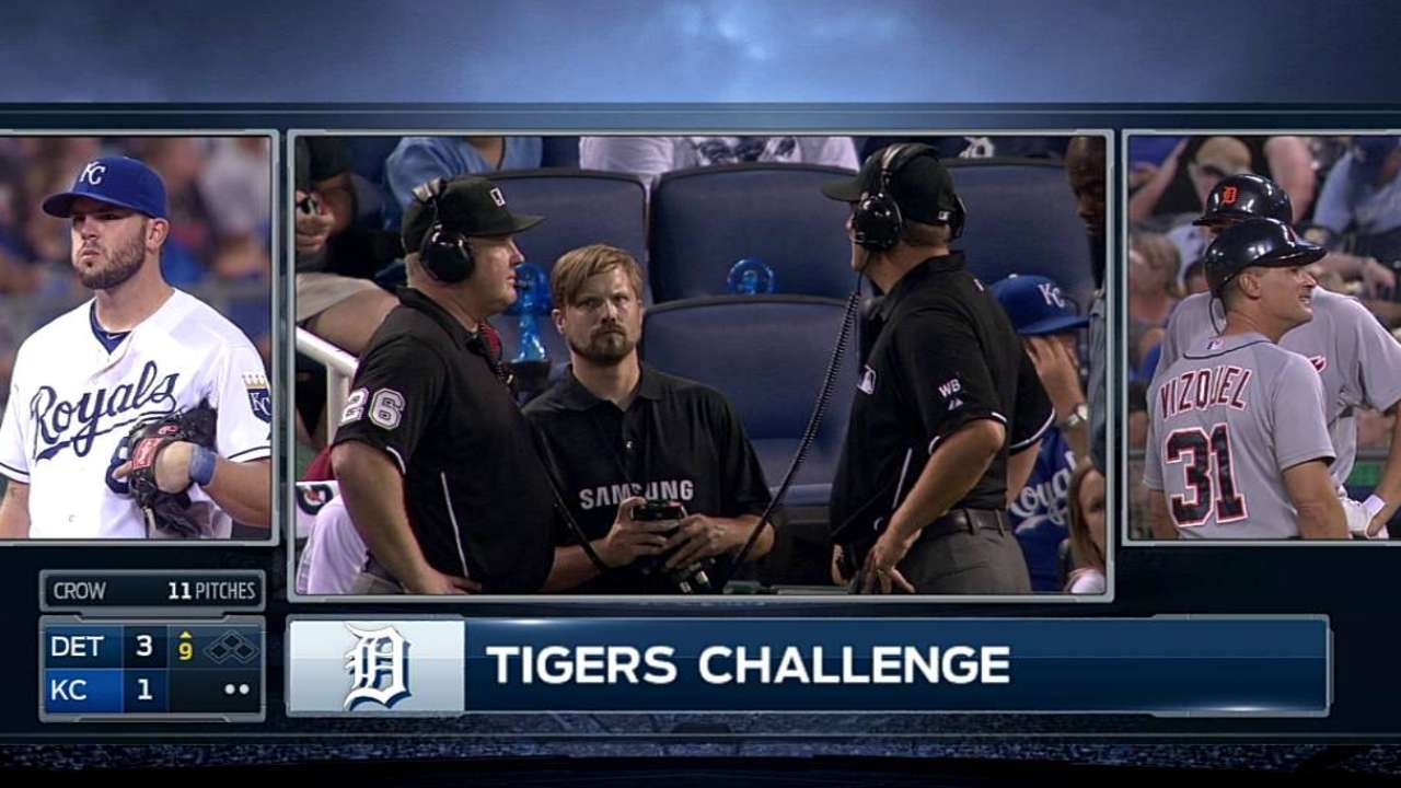 Tigers' win challenge to tack on run against KC