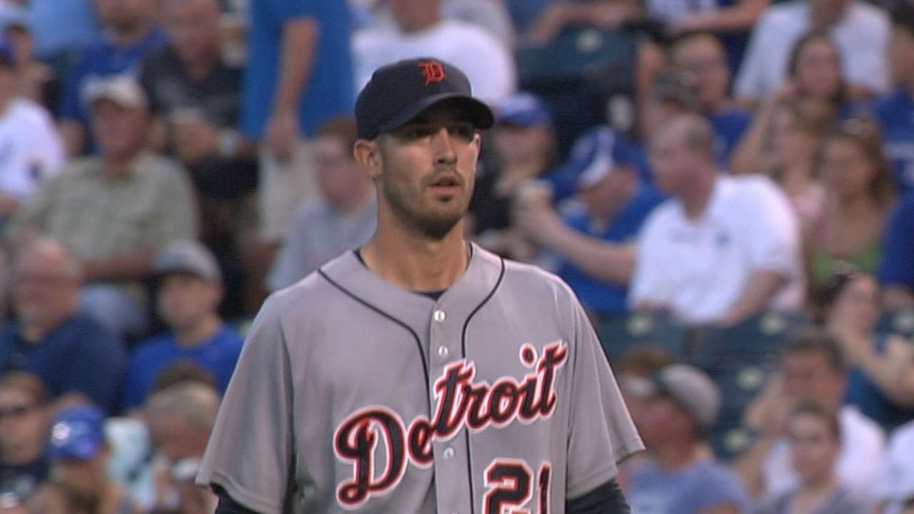 Porcello wins 12th as Tigers stay tough on Royals