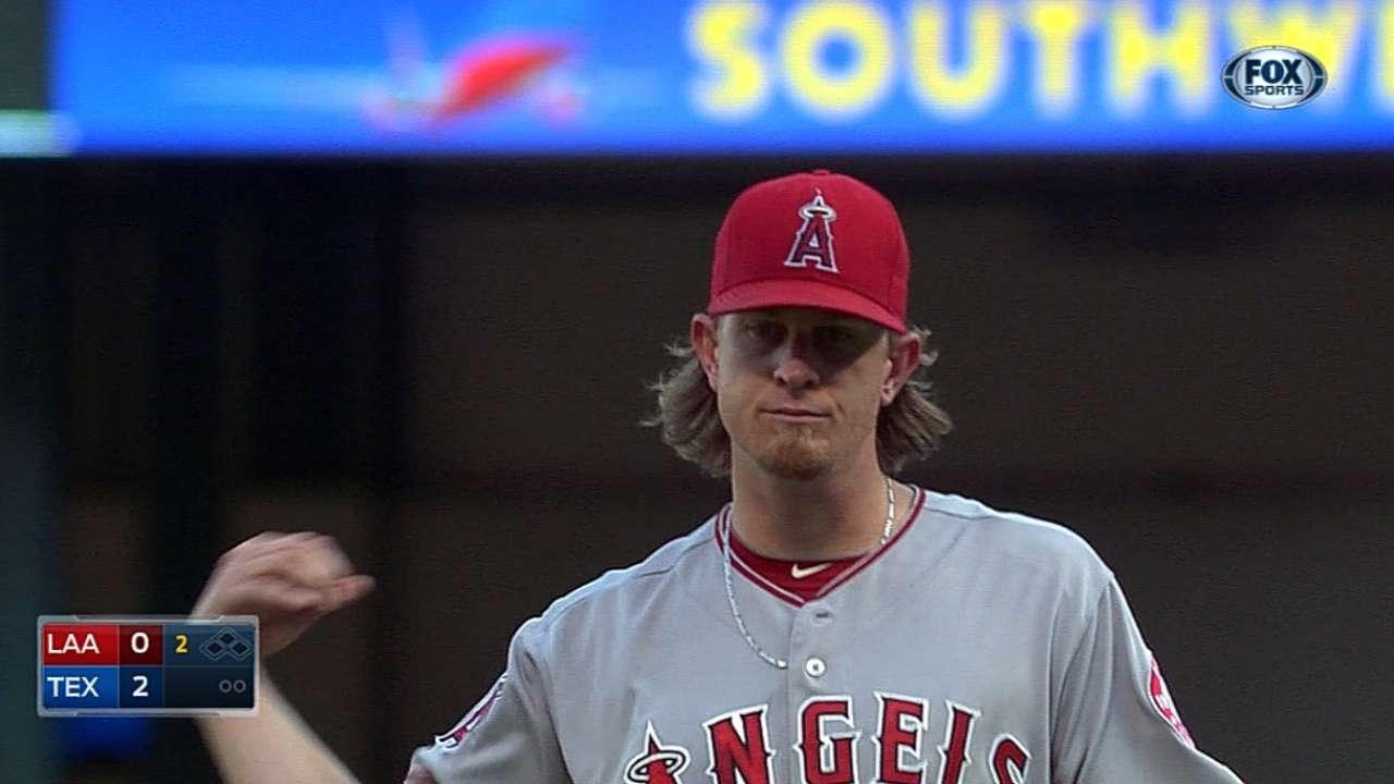 Weaver stifles Rangers long enough for bats to erupt