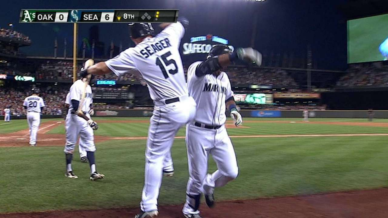 Cano's impact on Mariners running deep, and growing