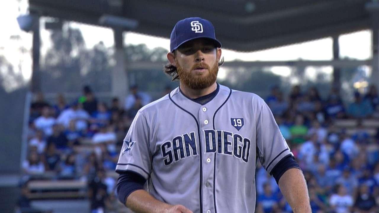 Ofensiva de Padres fue dominada por Dodgers