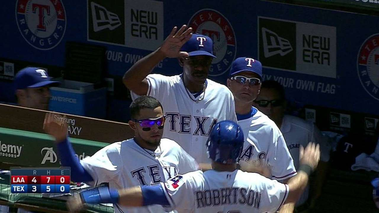 Rangers fall to Angels, drop eighth straight