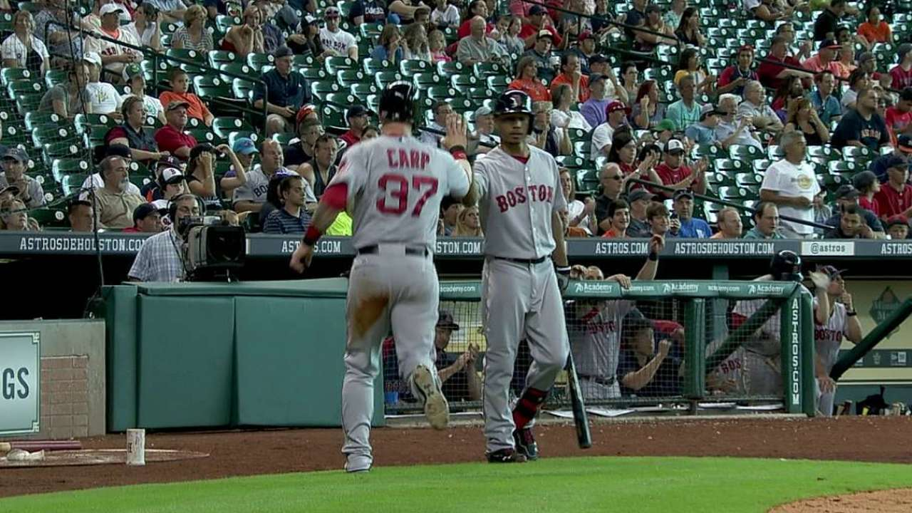 Buchholz mantuvo a raya a los Astros en Houston