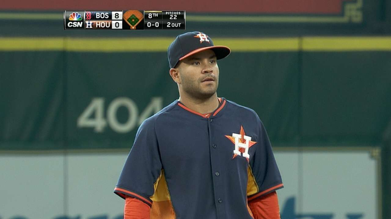 Astros unable to contain Red Sox, solve Buchholz