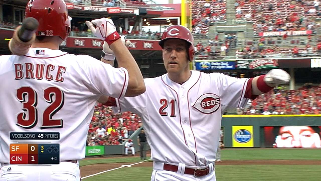 Reds sending four players to All-Star Game
