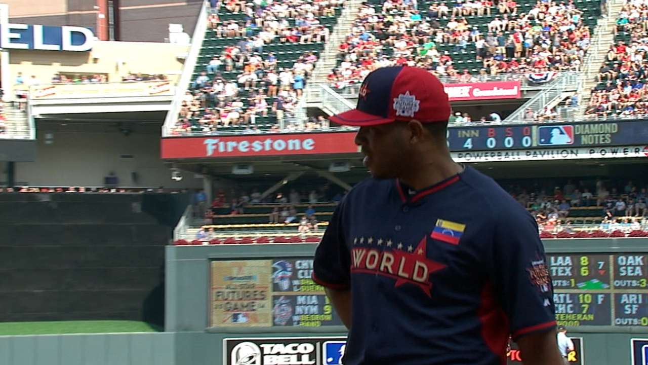 Escobar getting big league education at Triple-A