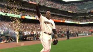 2007 ASG: Barry Bonds is introduced at AT&T Park