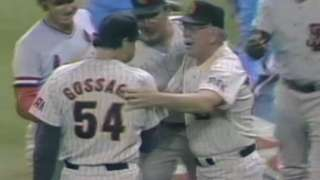 1985 ASG: Gossage gets final out for National League
