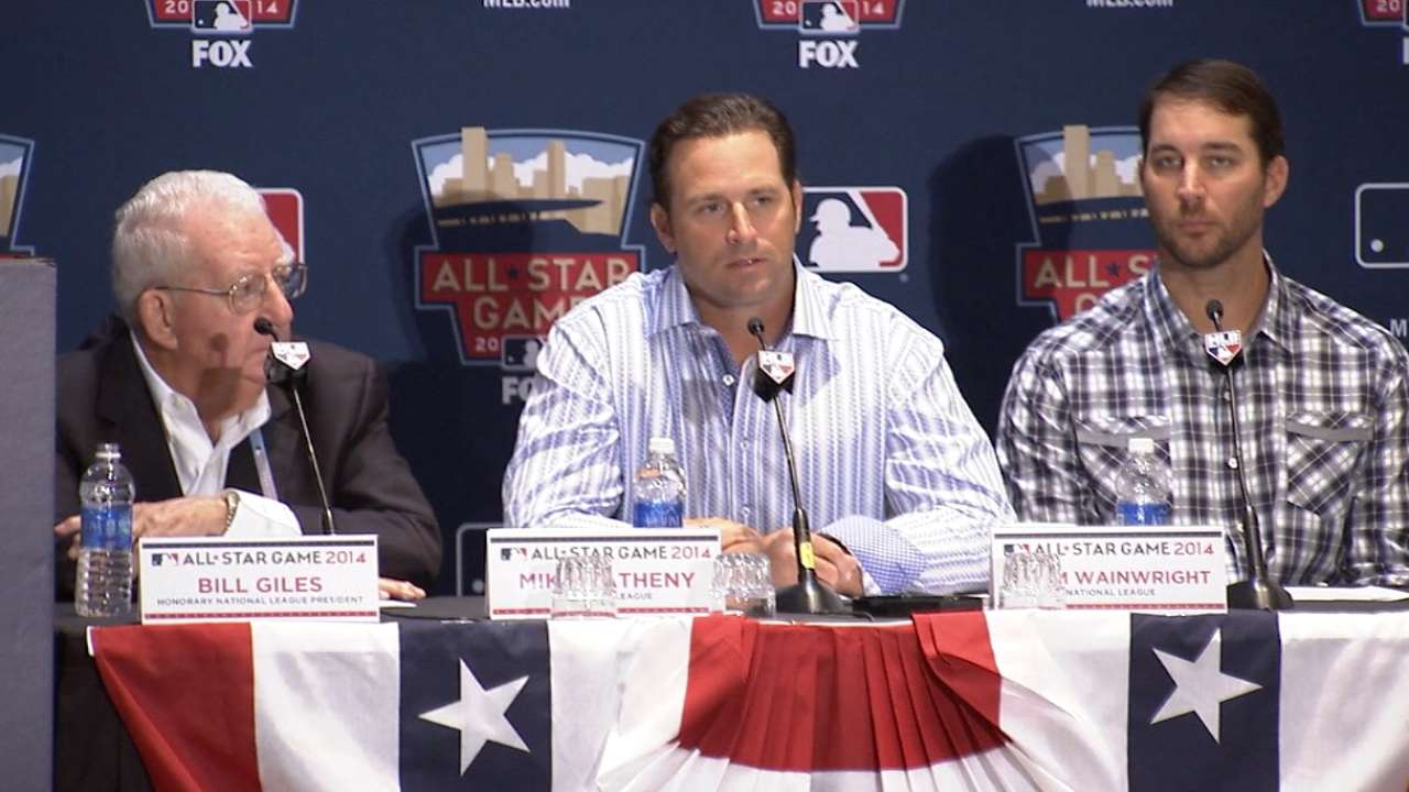Matheny reveals NL All-Star batting order