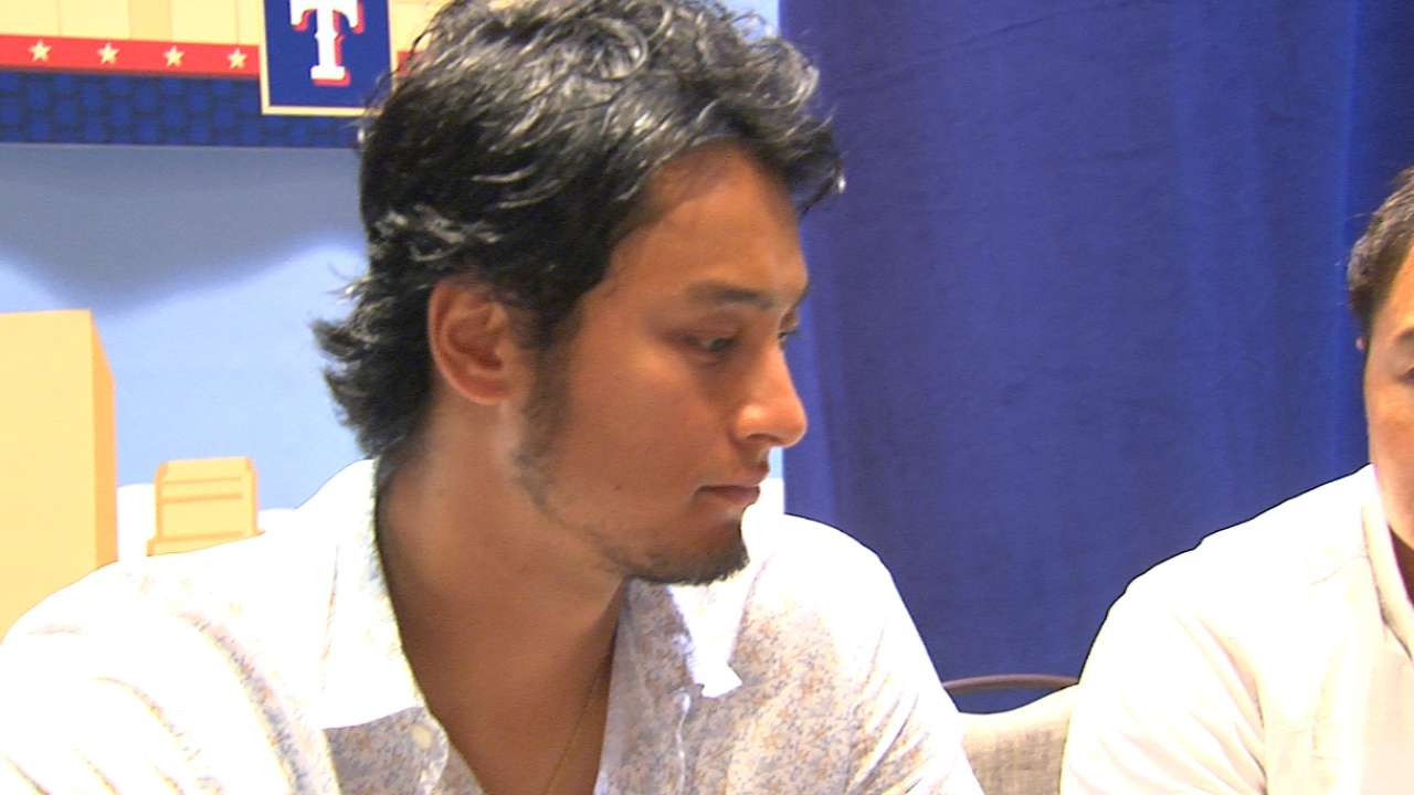 Darvish, Beltre reflect on club's wayward season