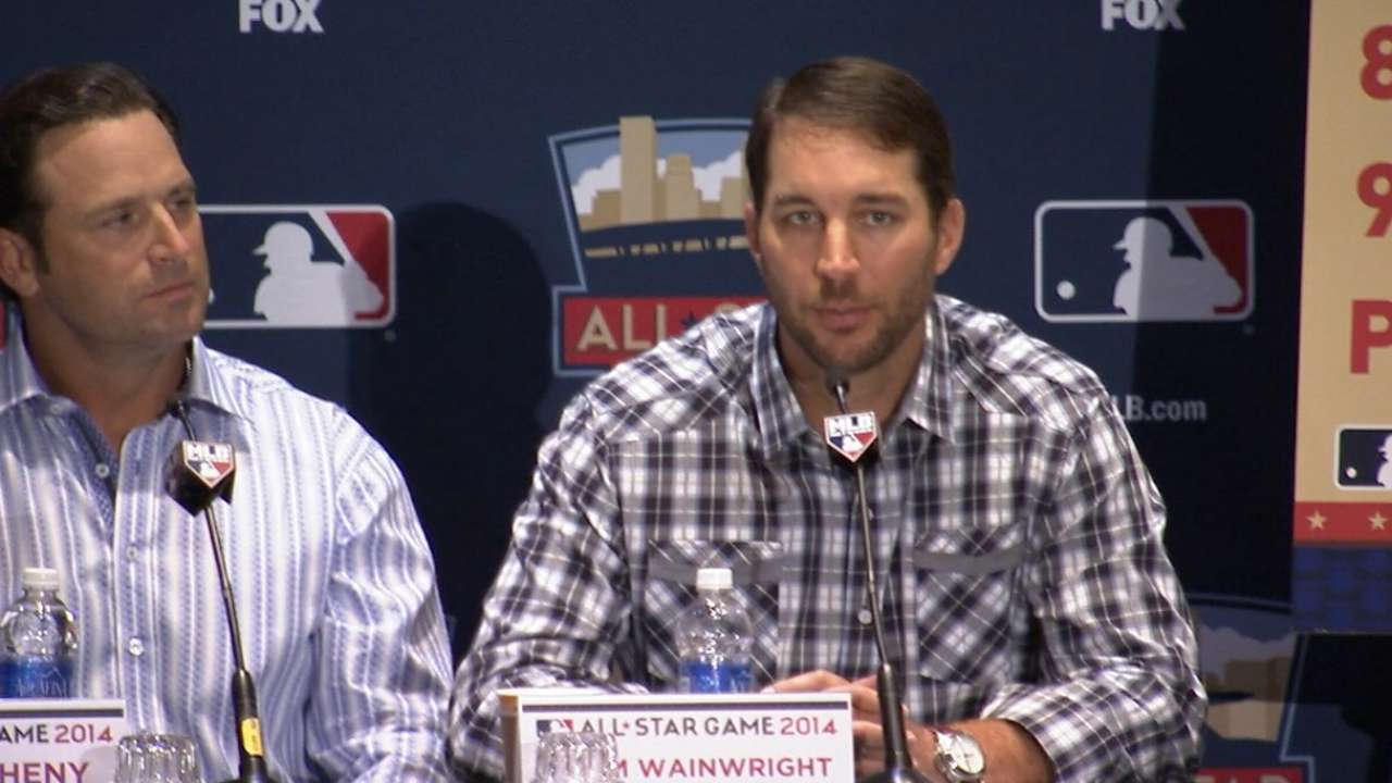 Wainwright to get it started for National League