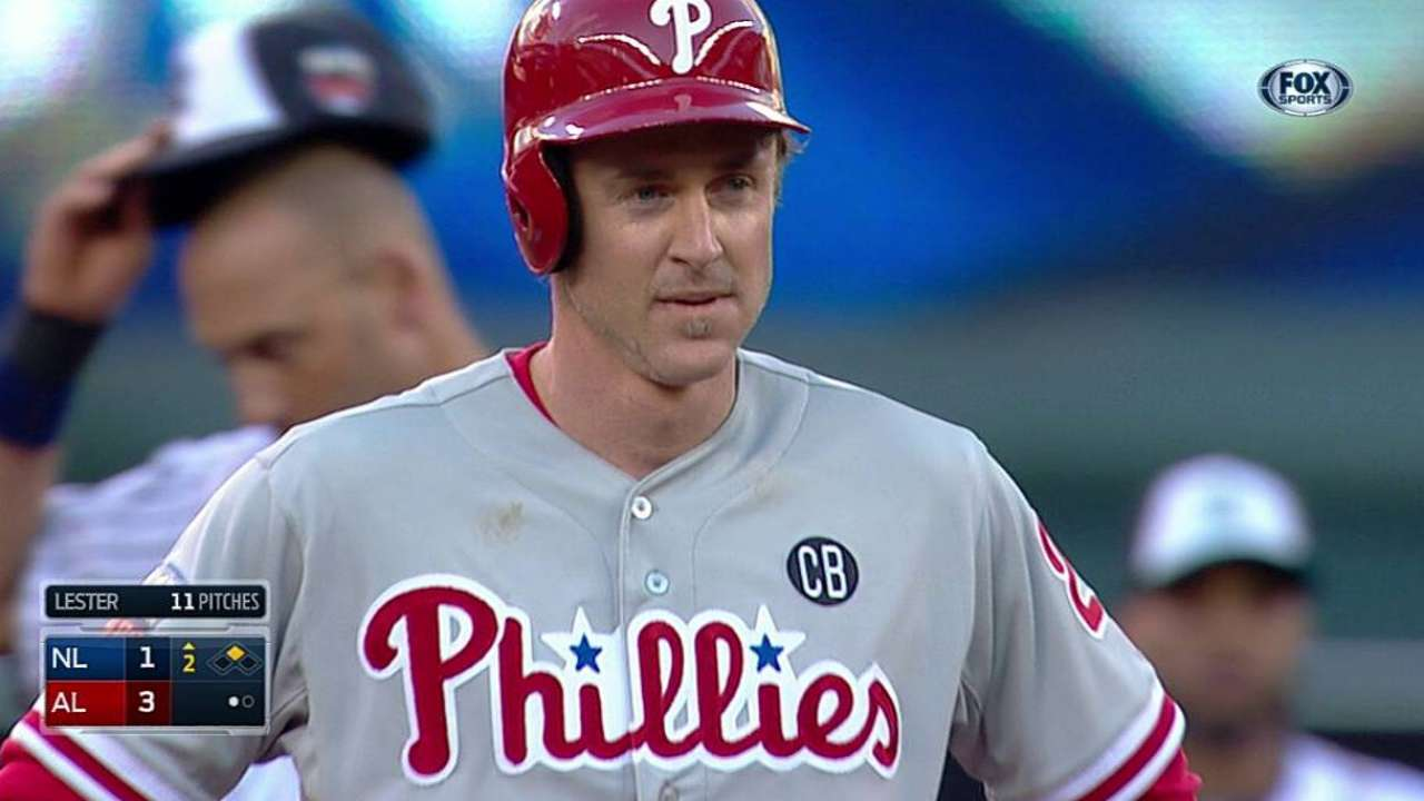 Utley makes presence felt in Midsummer Classic
