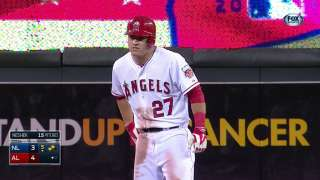 2014 ASG: Trout gives AL the lead with an RBI double