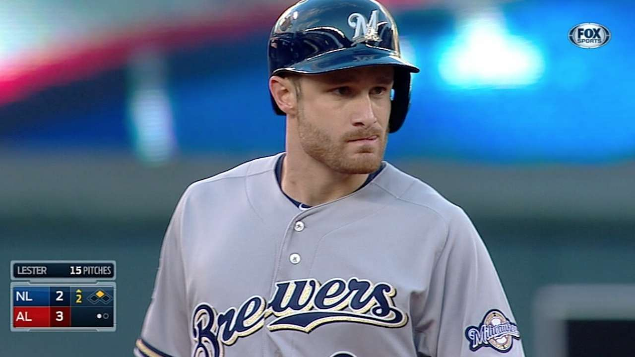 Crew represents well as Lucroy doubles down in ASG