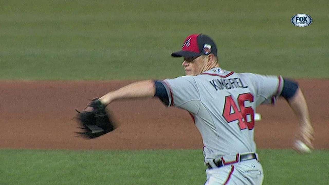 Kimbrel dominates American League batters