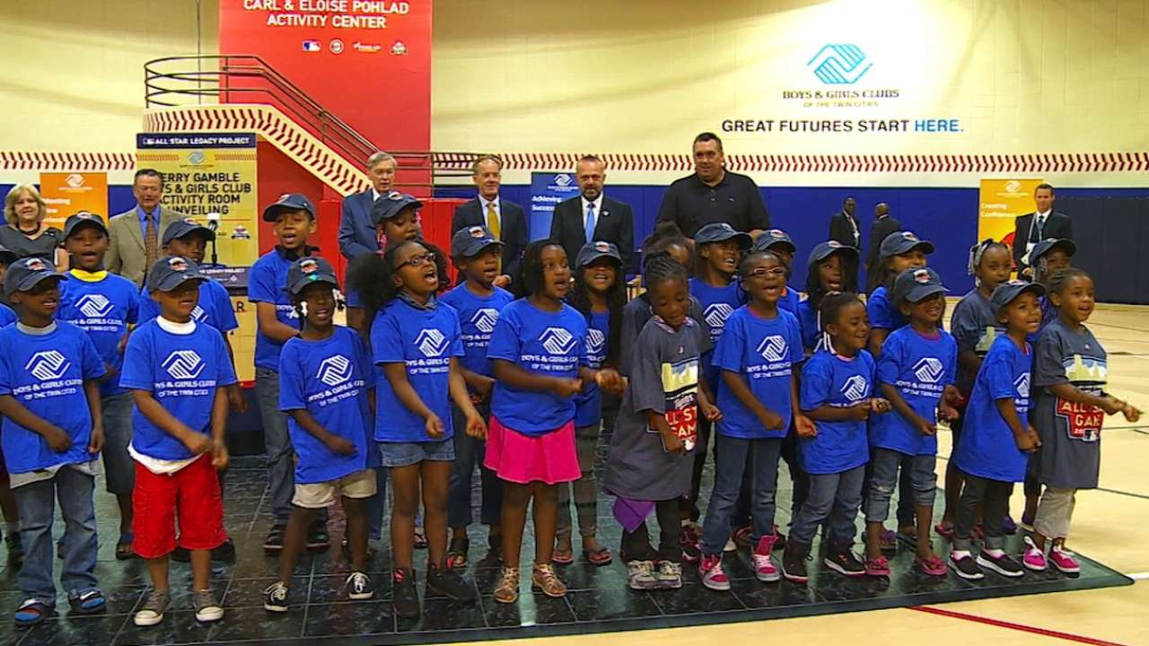 Selig helps dedicate renovated Boys & Girls Club