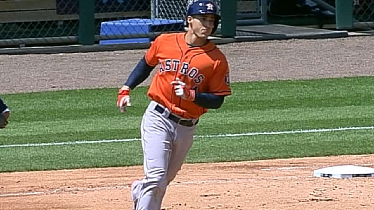 Astros' first half yields encouraging signs for future
