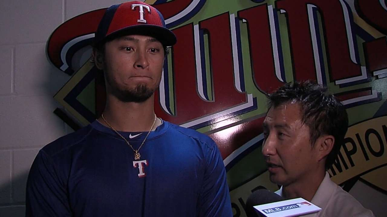 Yu tosses flawless inning in AL's All-Star win