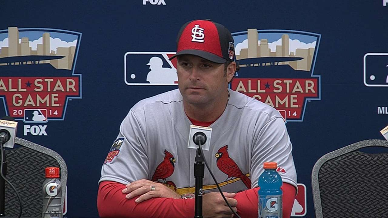 Matheny appreciates first All-Star experience